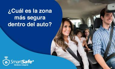¿CUÁL ES LA ZONA MÁS SEGURA DENTRO DEL AUTO?