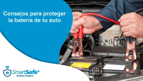 Consejos para proteger la batería de tu auto