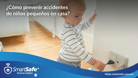 ¿Cómo prevenir accidentes de niños pequeños en casa?