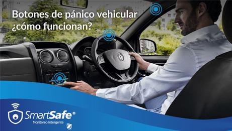 Botón de pánico para autos