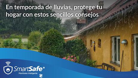 Cómo proteger tu hogar en temporada de lluvias