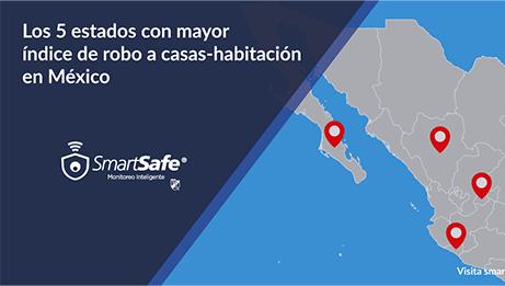 5 estados con más robos en México