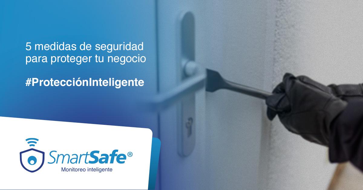 5 MEDIDAS DE SEGURIDAD PARA PROTEGER TU NEGOCIO