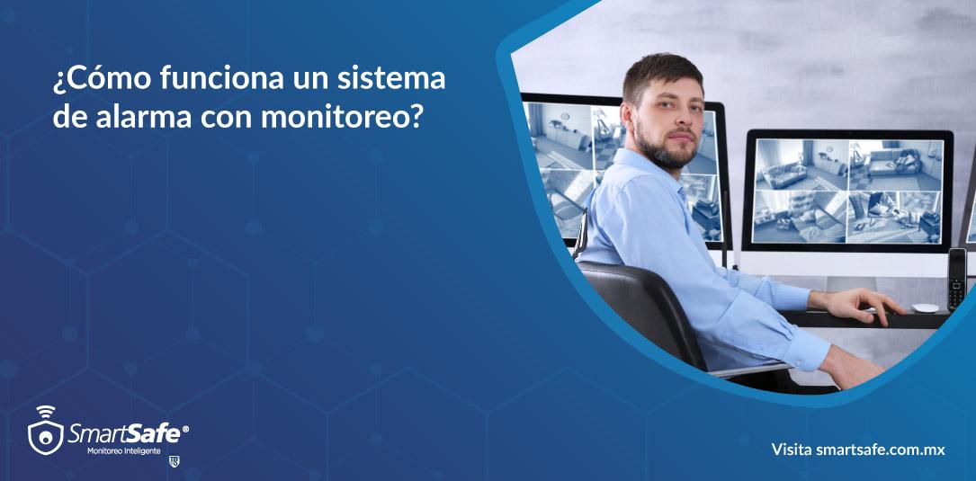 ¿Cómo funciona un sistema de alarma con monitoreo?